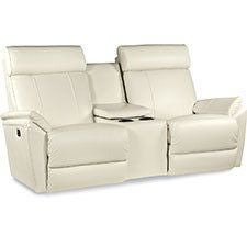 Beckett PowerReclineXRw™ Full Reclining Loveseat w/ Console