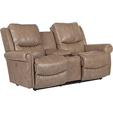 Duncan PowerReclineXRw™ Full Reclining Loveseat w/ Console