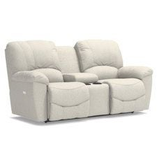 Hayes PowerRecline La-Z-Time® Full Reclining Loveseat w/ Console
