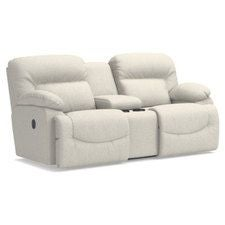 Asher Reclining Loveseat w/ Console