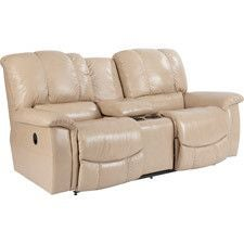 Jace La-Z-Time® Full Reclining Loveseat w/ Console