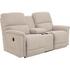 Oscar La-Z-Time® Full Reclining Loveseat w/ Console