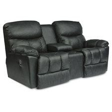 Morrison La-Z-Time® Full Reclining Loveseat w/ Console