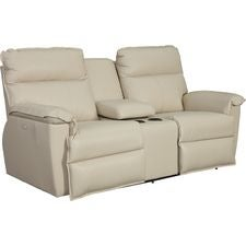 Jay Power La-Z-Time® Full Reclining Loveseat w/ Console