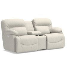 Asher Power Reclining Loveseat w/ Console