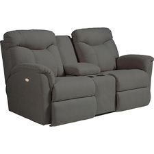 Causeuse entièrement inclinable Fortune PowerRecline La-Z-Time® avec console