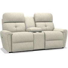 Douglas Power Reclining Loveseat w/ Console