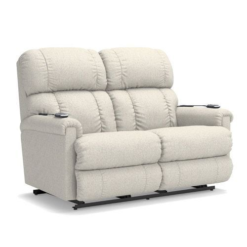 Amazing Pinnacle Power Wall Reclining Loveseat W Headrest Lumbar Ibusinesslaw Wood Chair Design Ideas Ibusinesslaworg