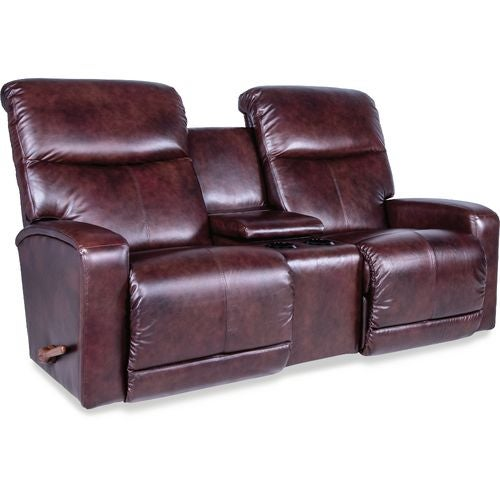 Levi Reclina-Way® Full Reclining Loveseat w/ Console | Tuggl