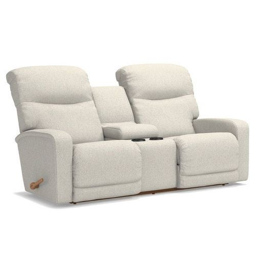 Awesome Levi Wall Reclining Loveseat W Console La Z Boy Creativecarmelina Interior Chair Design Creativecarmelinacom
