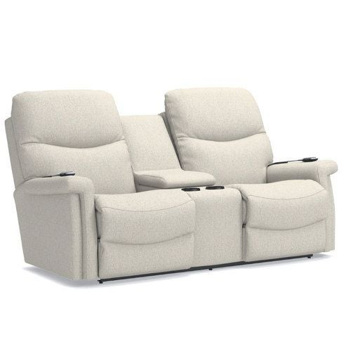 Excellent Baylor Power Wall Reclining Loveseat W Console Headrest Creativecarmelina Interior Chair Design Creativecarmelinacom