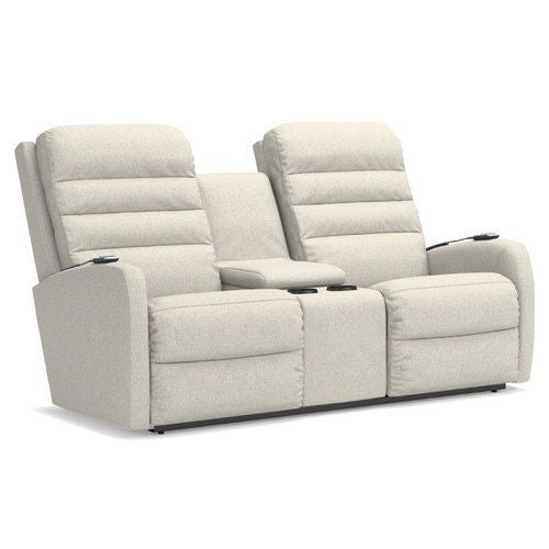 Forum Power Wall Reclining Loveseat W Console Headrest