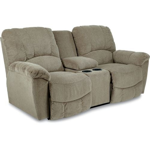 Hayes La Z Time Full Reclining Loveseat W Console