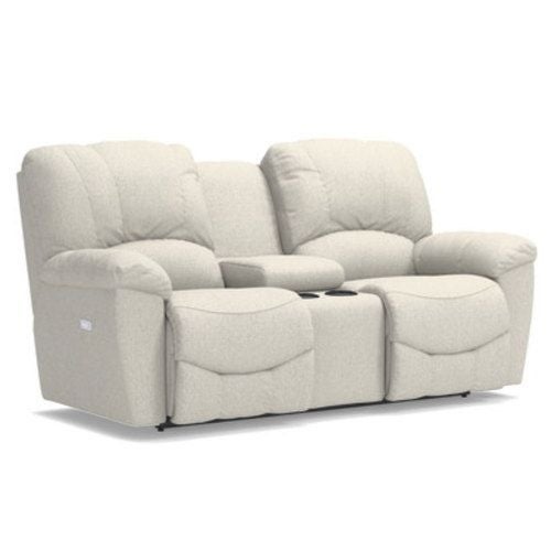 Hayes Reclining Loveseat w/ Console | Tuggl