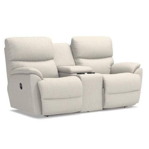 Excellent Trouper Reclining Loveseat W Console Gamerscity Chair Design For Home Gamerscityorg