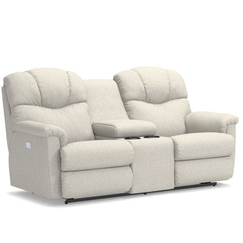Surprising Lancer Power Reclining Loveseat W Headrest Console Inzonedesignstudio Interior Chair Design Inzonedesignstudiocom