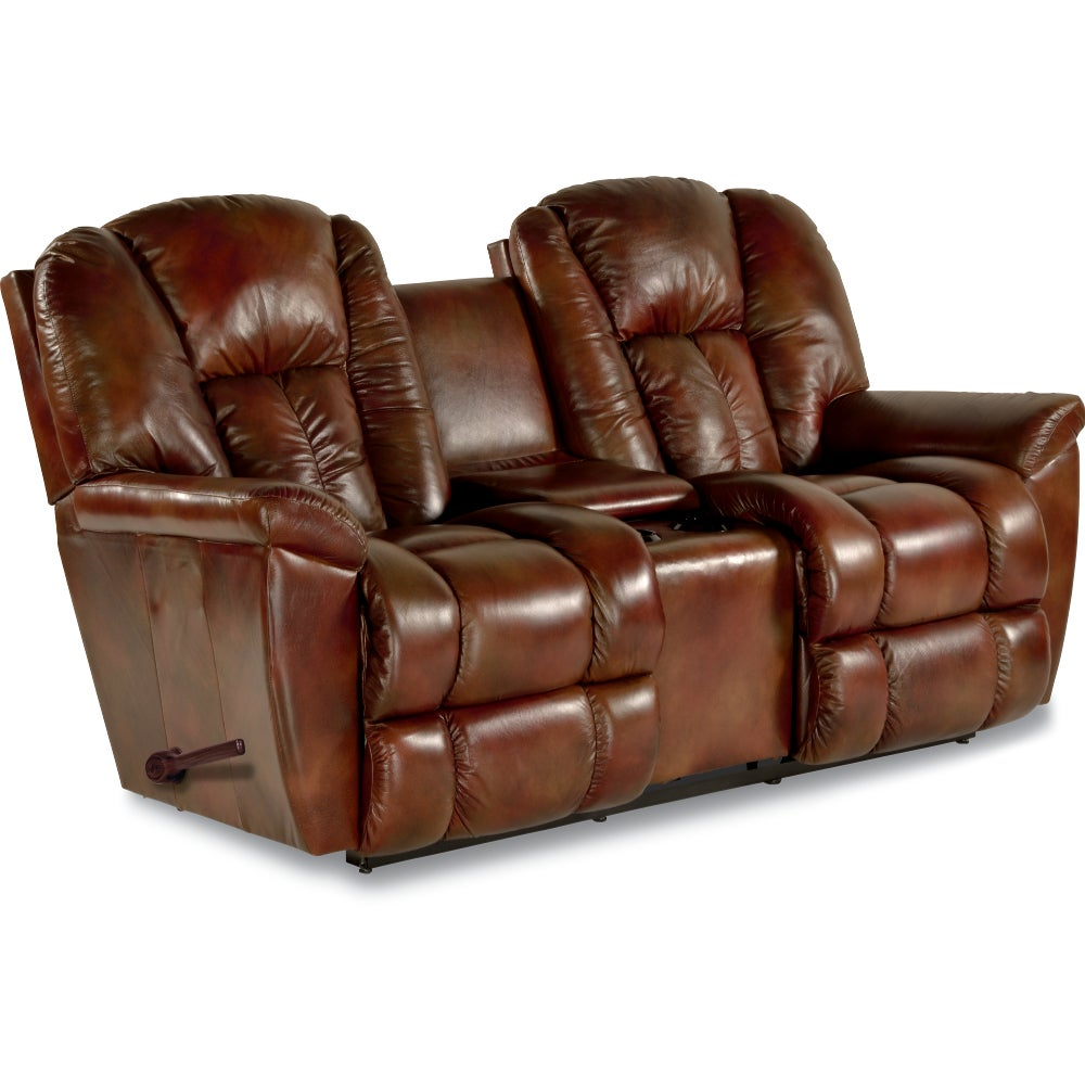 Maverick Reclina Way Full Reclining Loveseat W Console