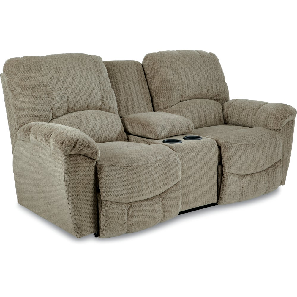 Hayes la z time full reclining loveseat w console Loveseats that recline