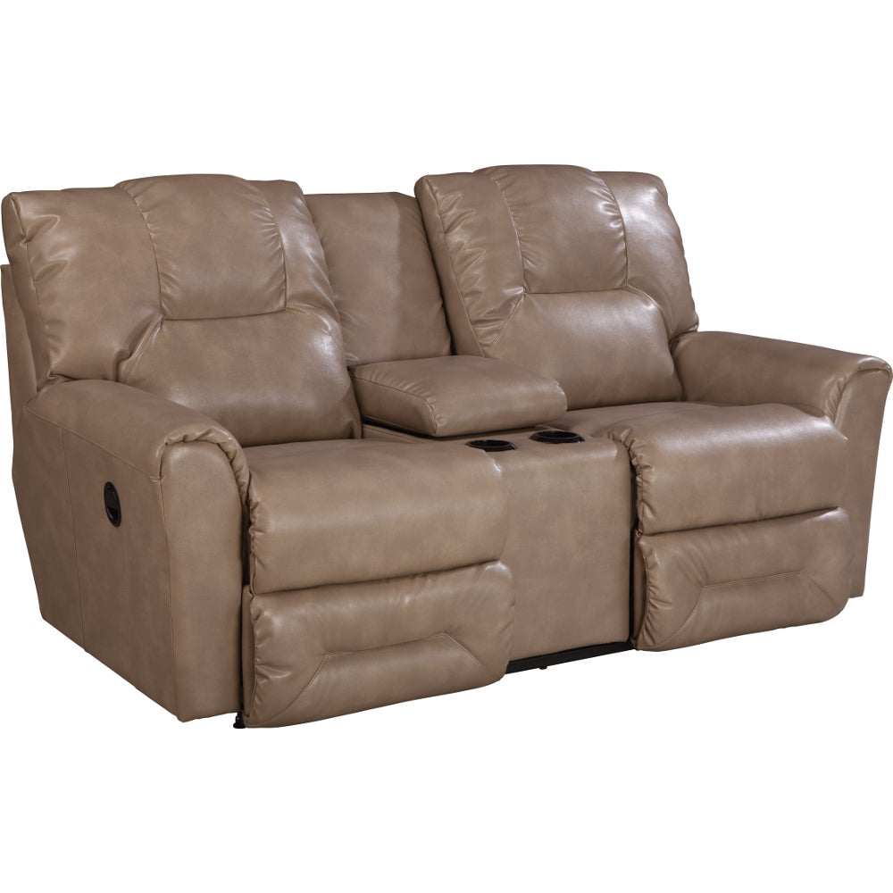 Easton La Z Time Full Reclining Loveseat W Console