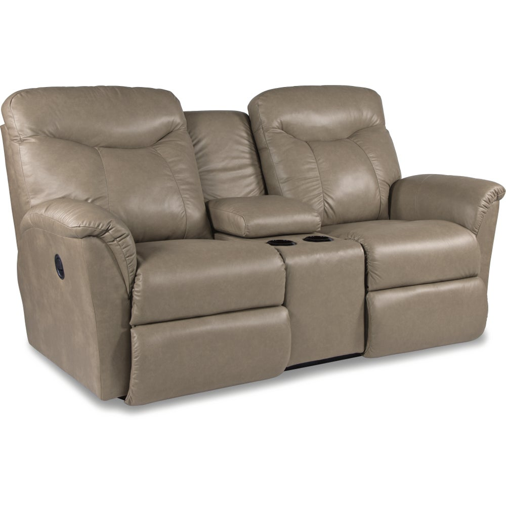 Fortune La Z Time Full Reclining Loveseat W Console