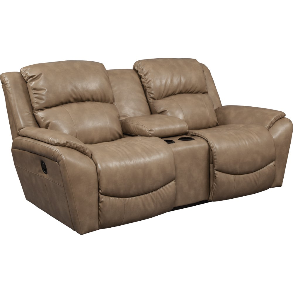 Barrett La Z Time Full Reclining Loveseat W Console