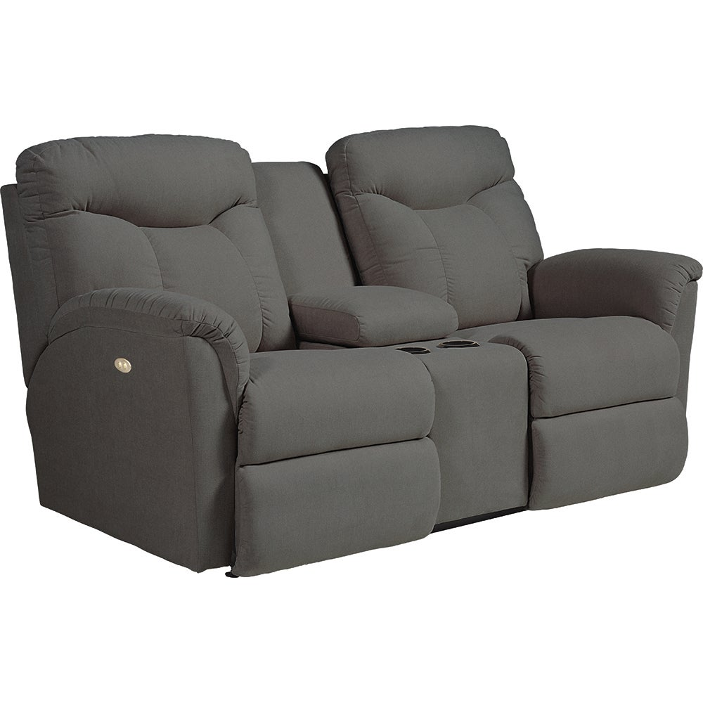Fortune Powerrecline La Z Time Full Reclining Loveseat W Console
