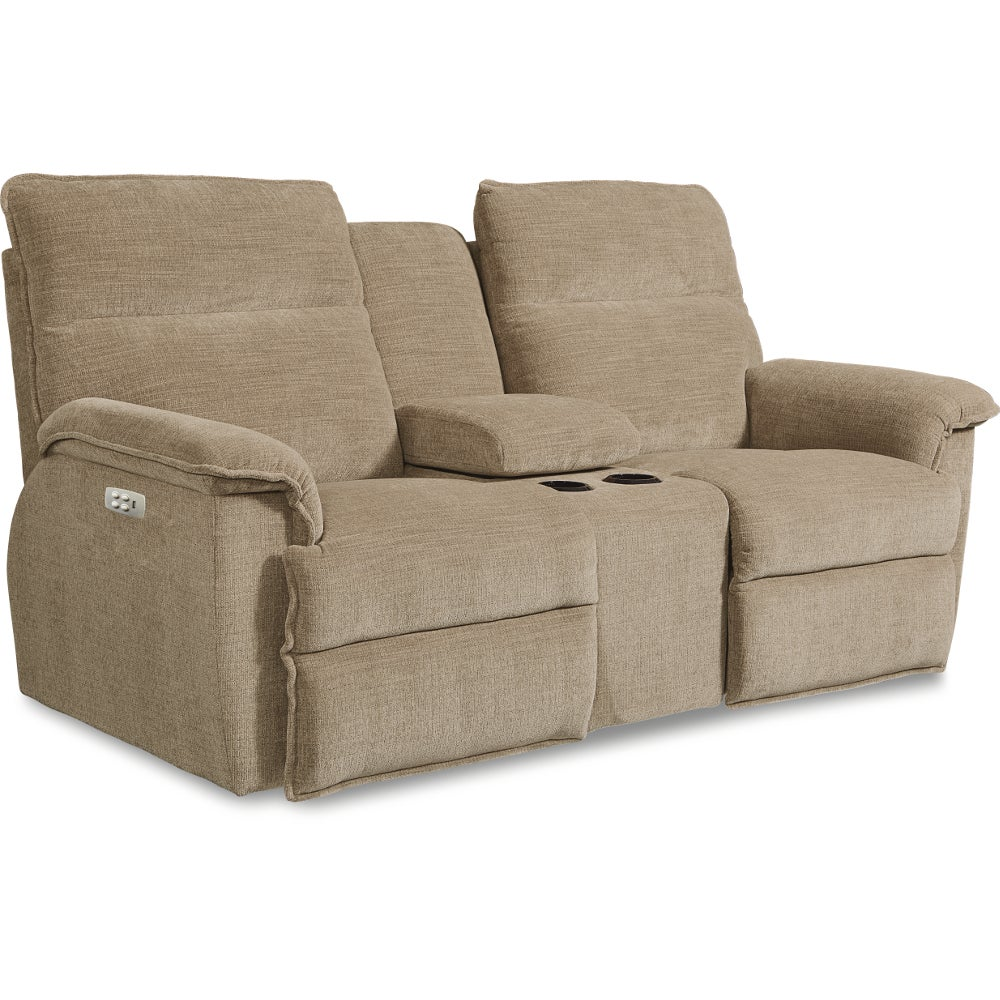 Reclining Loveseat With Middle Console Homelegance Laurelton Double Glider Reclining Love Seat