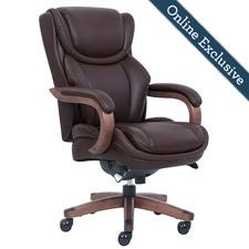 Harnett Executive Office Chair, Marron