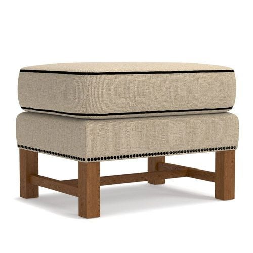 Strange Cosmopolitan Ottoman W Platinum Nail Head Trim Ocoug Best Dining Table And Chair Ideas Images Ocougorg