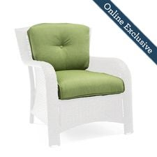 Sawyer Patio Lounge Chair Replacement Cushion, Cilantro Green