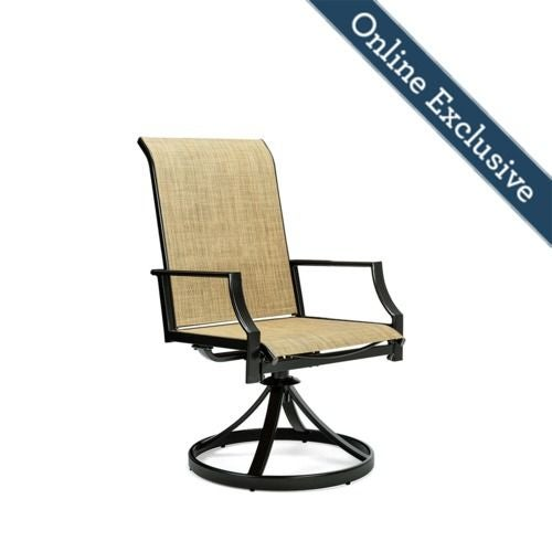 Remarkable Addyson Sling Swivel Dining Chair 2 Pack Machost Co Dining Chair Design Ideas Machostcouk