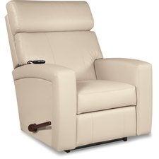 Agent Reclina-Rocker® Recliner w/ Two-Motor Massage & Heat