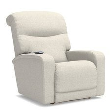 Levi Power Rocking Recliner w/ Massage & Heat