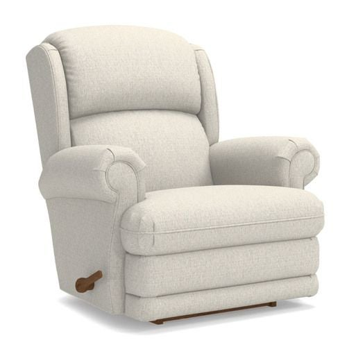 Kirkwood Reclina Rocker Recliner W Brass Nail Head Trim