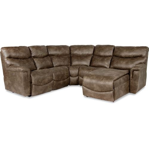 Leather Sectional Sofa Lazy Boy: James Sectional