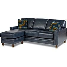 Uptown Premier Sofa & Ottoman w/ Chaise Cushion
