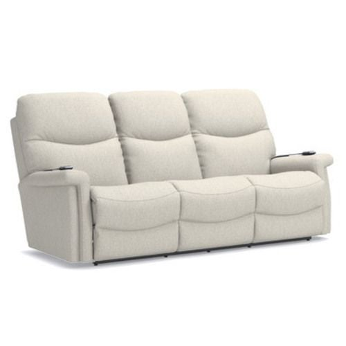 Baylor Power Wall Reclining Sofa W Headrest Lumbar La Z Boy