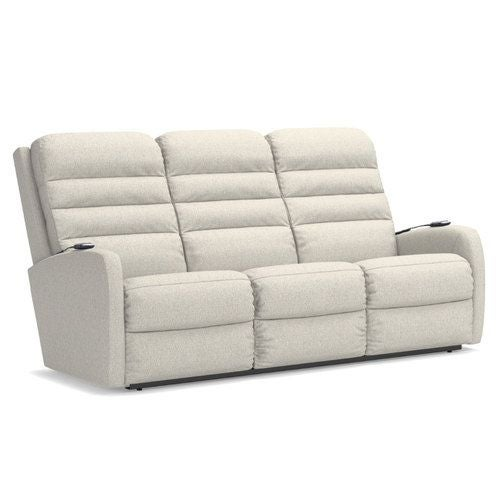 Forum Power Wall Reclining Sofa W Headrest Lumbar La Z Boy