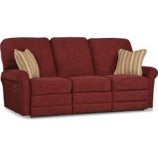 Addison la z time full reclining sofa for 90 inch couch