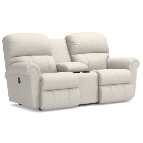 Groovy Briggs Reclining Loveseat W Console Caraccident5 Cool Chair Designs And Ideas Caraccident5Info