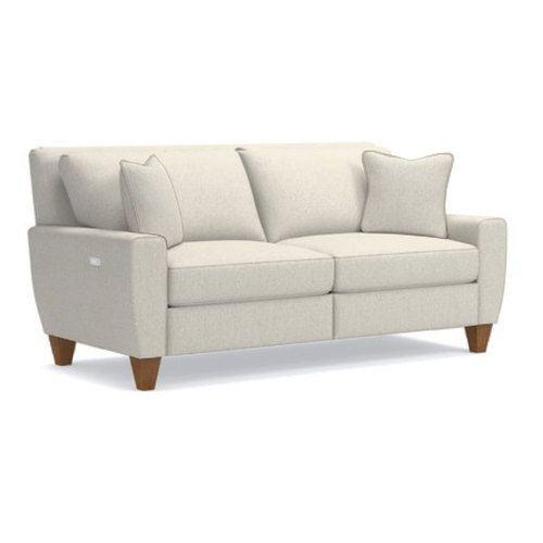 IKEA - STOCKSUND, 3 1/2 seat sofa, Nolhaga light beige, light brown ...