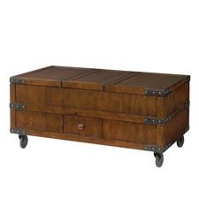 Hidden Treasures Trunk Cocktail Table