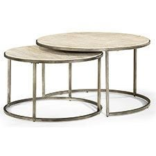Modern Basics Round Cocktail Table ...