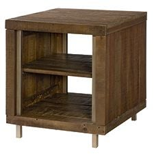 Flashback Rectangular End Table