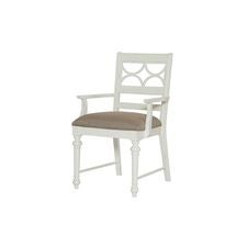 Lynn Haven Fret Work Arm Chair-Kd