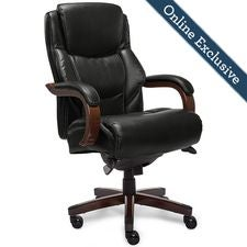 Delano Big & Tall Executive Office Chair, Noir