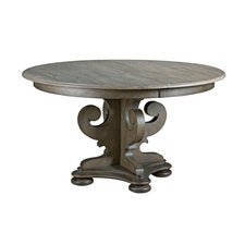Greyson Grant Round Dining Table-Complete (W/1-20