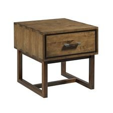 Traverse Woodworker Drawer End Table