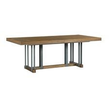 AD Modern Synergy Curator Rectangular Dining Table Complete