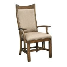CRAFTSMAN UPH ARM CHAIR